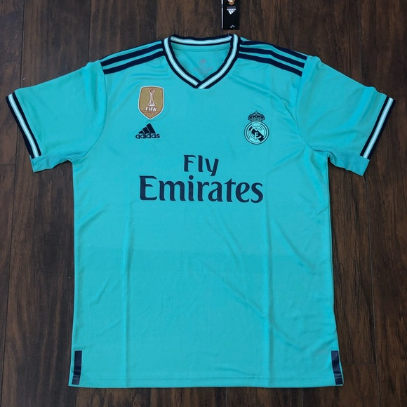 best sneakers 2dd83 11db7 Real Madrid 3rd 19/20 Jersey. NWT